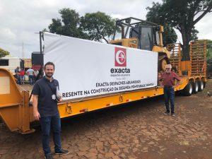 Transporte de materiais para obra da segunda ponte no lado paraguaio é liberado